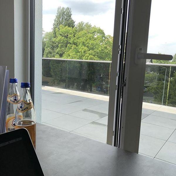 Blick aus meinem neuen Büro.