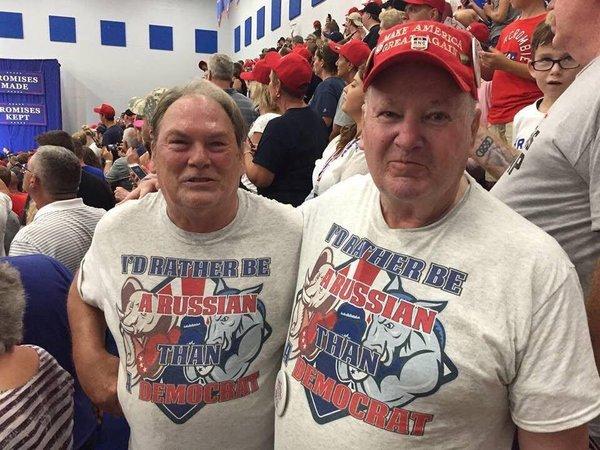 Trump-aanhangers bij een verkiezingsbijeenkomst in Ohio, afgelopen zaterdag