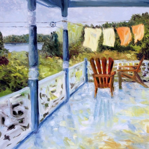 Breezy Bay Morning by Terrill Welch  | Artwork Archive