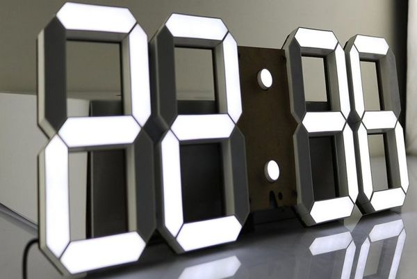 Digital Wall LED Clock | $80 | Amazon Affiliate