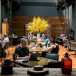 Sorry, Power-Lunchers. This Restaurant Is a Co-Working Space Now.
