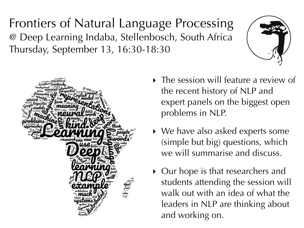 Learning Meaning in NLP, Recurrence in NNs, Q&A with Yoshua Bengio, ML == pseudo science?, ImageNet < 18mins, Where's Waldo?, Frontiers of NLP