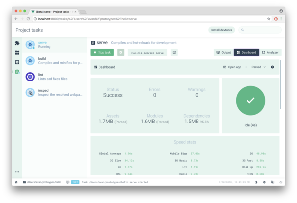 Vue CLI 3.0 is here! – The Vue Point – Evan You