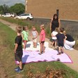 Eau Claire preschoolers treat construction workers to act of kindness