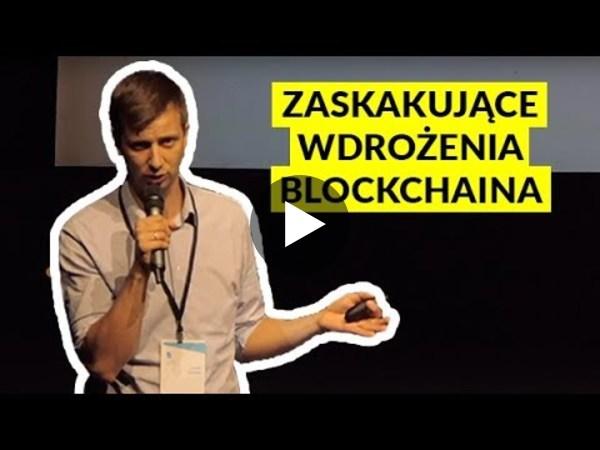 Zaskakujące wdrożenia kryptowalut i blockchaina - Jacek Kubiak (I Love Crypto) - YouTube