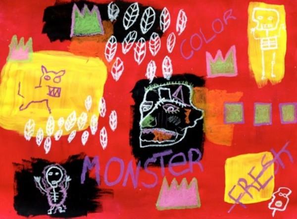 Life Doesn't Frighten Me – Maya Angelou / Jean-Michel Basquiat | ART & Thoughts