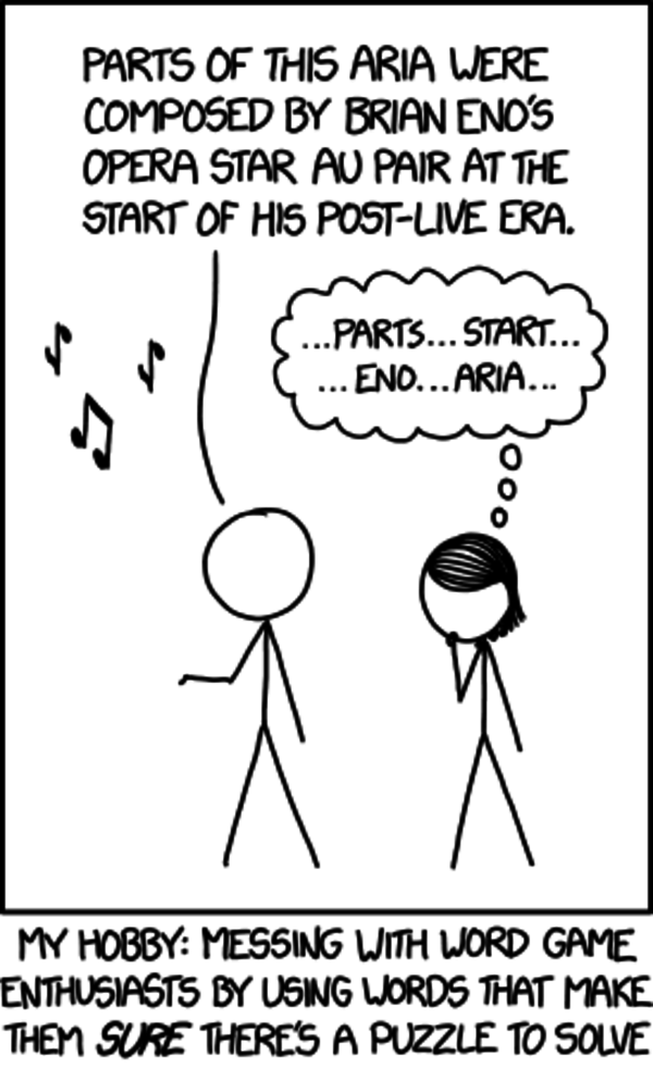 xkcd: Word Puzzles