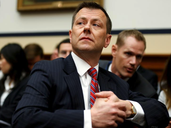 Peter Strzok (foto: Reuters)
