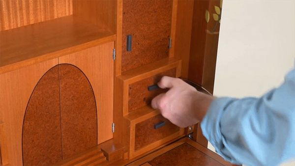 This Beautiful Wooden Cabinet Hides the Most Fiendishly Complicated Puzzle I've Ever Seen