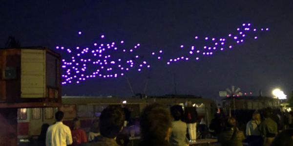 De eerste drone show in Nederland: wij waren erbij! - EventGoodies