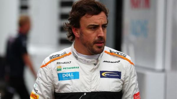 WASTED TALENT: Alonso takes a break from F1
