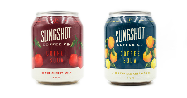 Slingshot Coffee Announces Two Flavors Of Their Brand New Coffee Soda