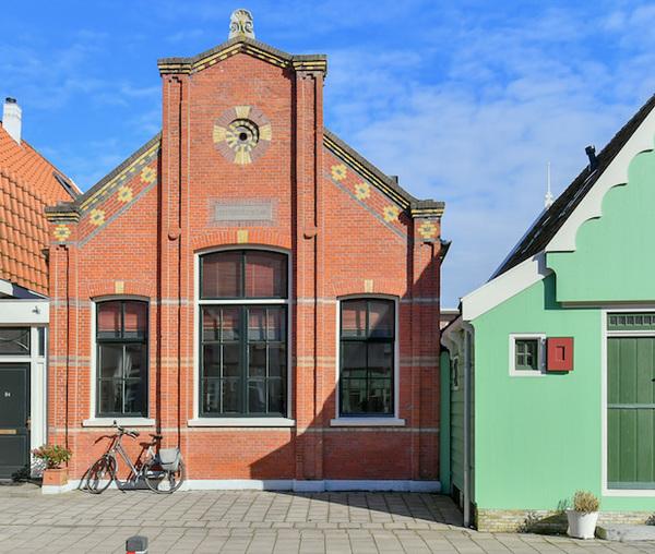 De Geveltoerist 77: Christelijke Lagere School, Wormerveer | De Orkaan