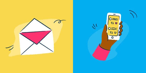 Writing for email vs. writing for social media