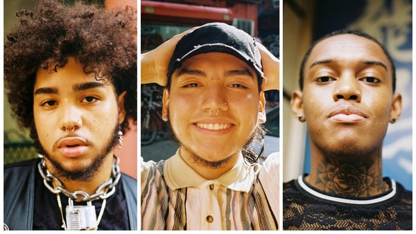 1) A photo series featuring NYC's young Latinx rap community