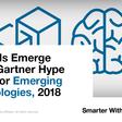 5 Trends Emerge in the Gartner Hype Cycle for Emerging Technologies, 2018 - Smarter With Gartner