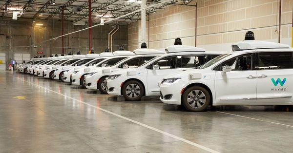 A day in the life of a Waymo self-driving taxi