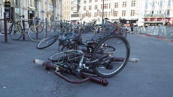 550 places seront proposées au garage à vélos sécurisé de Lille-Flandres - Fietsgarage Lille-Flandres al plaats bieden aan 550 fietsen