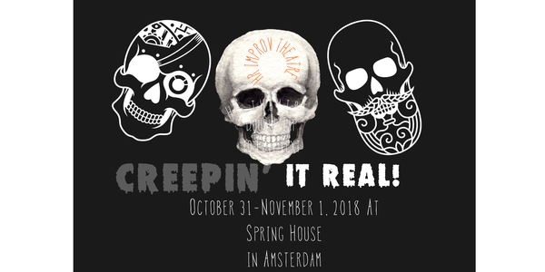 HR Improv Theatre in Amsterdam on October 31 and November 1, 2018