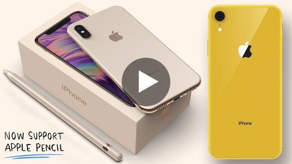 🇬🇧 Podívejte se na render připravovaných iPhone