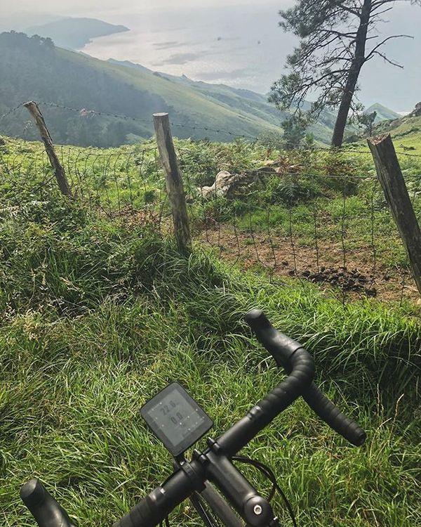 Riding Through the Basque Hills