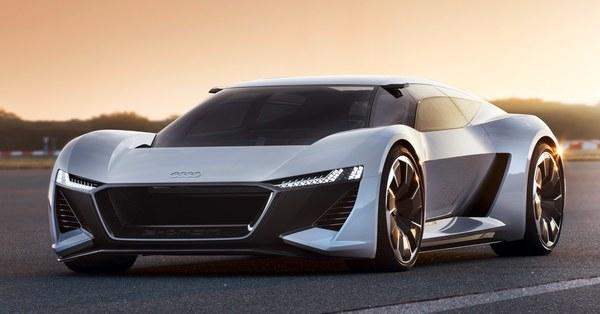 Audi's PB 18 e-tron Concept Puts the Driver in the Center
