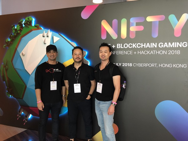 The BLMP team in from Singapore for NIFTY at Cyberport HK.