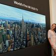 Peperduur hebbeding: LG introduceert 's werelds eerste 8K OLED-televisie