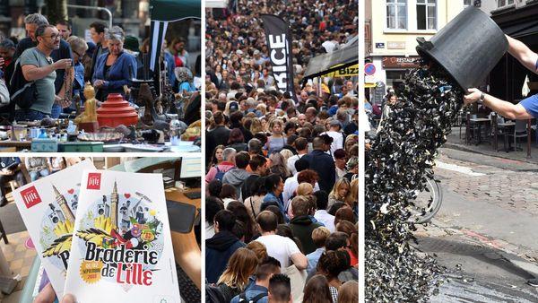 Braderie de Lille : ce qu'il faut savoir sur l'édition 2018 - Wat u best weet over de Braderie van Rijsel