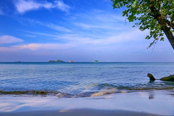 Dromen over een tropisch eiland...