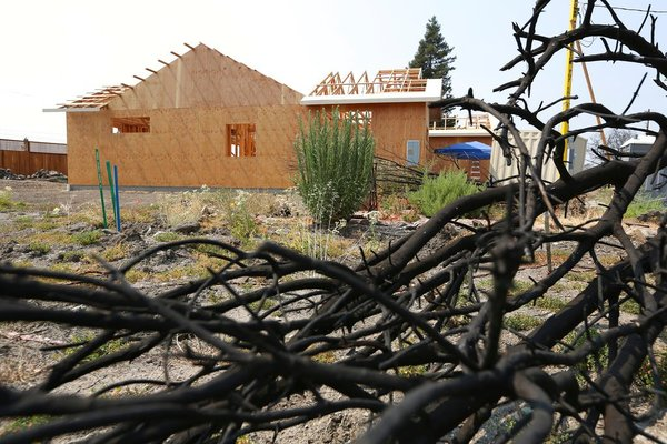 2,700 homes lost: Wine Country fire victims struggle to rebuild