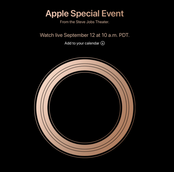 Pozvánka k Apple Keynote ☝️