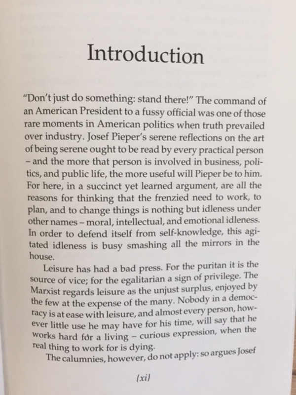 """Roger Scruton, """"Introduction,"""" p. xi"""
