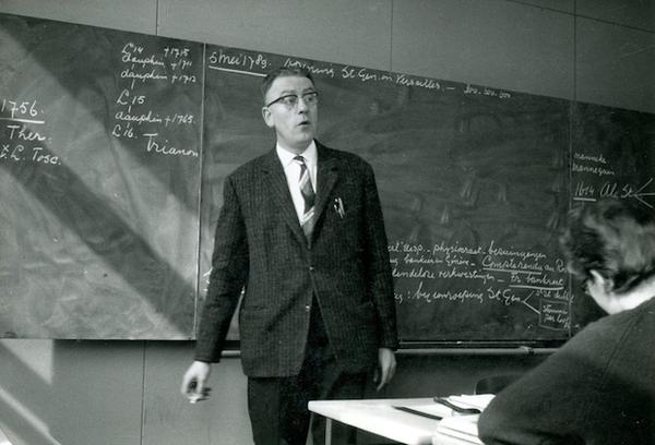 Piet Weiss, geschiedenisleraar met een verleden (reünie Pascal College) | De Orkaan