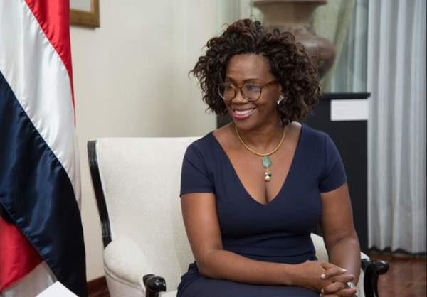 August 31 was Costa Rica's day of the Black Person and Afro-Costa Rican Culture. Valeria Regazzoli took this photo of Costa Rican Vice-President Epsy Campbell Barr in August. She is the first Afro-Costa Rican to hold this position.