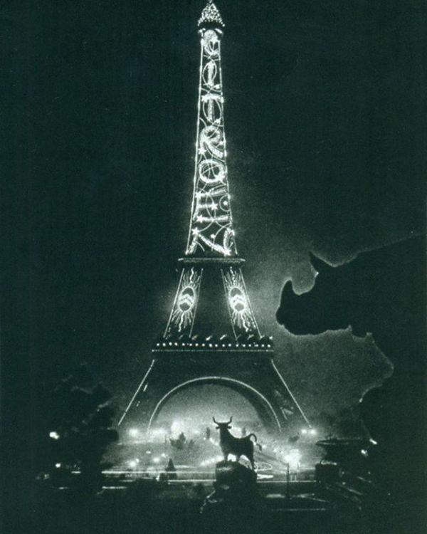 Advertising on the Eiffel Tower (1925 – 1934)