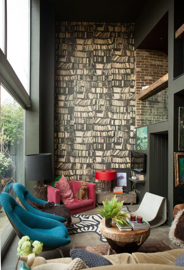 House Tour: A Dark and Dramatic East London Home   Apartment Therapy