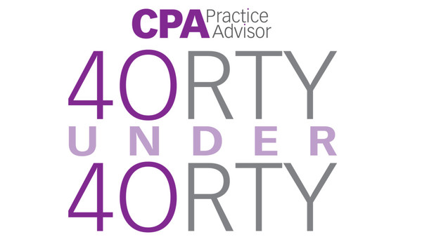 "2018 CPA Practice Advisor ""40 Under 40"""