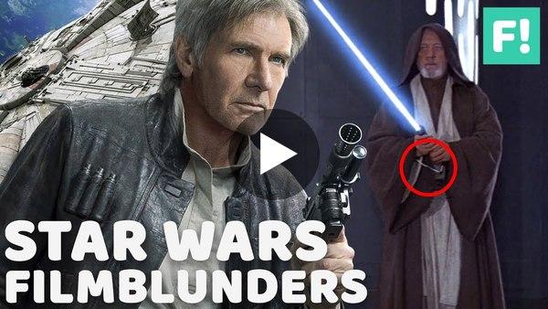 STAR WARS: 10 Grote Filmblunders Die Je Niet Eerder Zag - YouTube