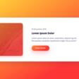 Responsive Blog Card Slider