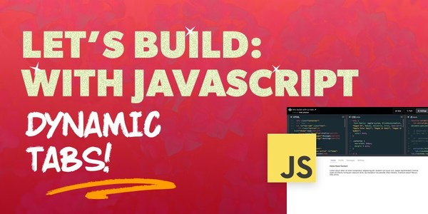 Let's Build: With JavaScript - How to Create Tabs with Vanilla JavaScript