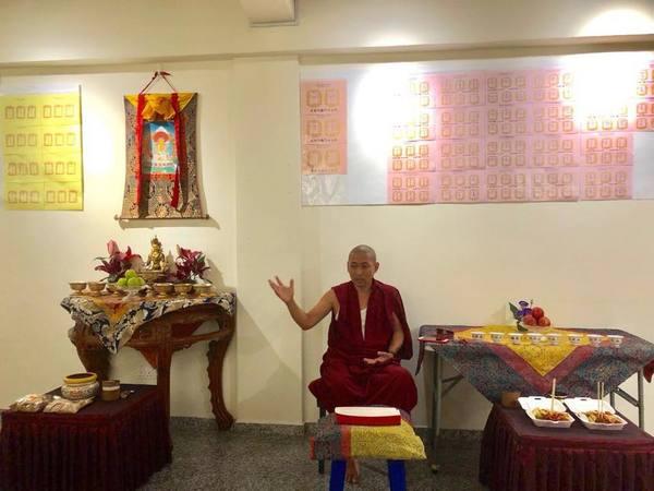 Celebrating Ullambana Festival with RYO Sangha and Tulku Mingmar