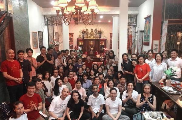 Tulku Mingmar Teaching in Rangjung Yeshe Vietnam