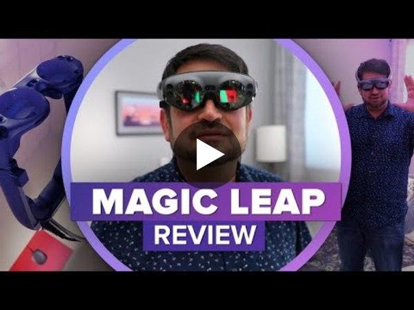 We tried Magic Leap One - YouTube