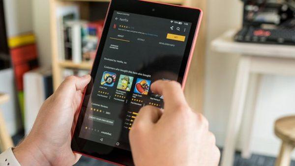 La tablette Fire HD 8 (2018)