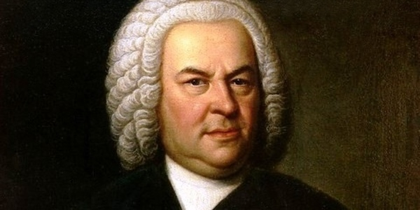 A (public domain) painting of Bach