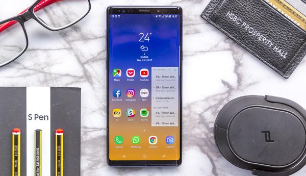 Samsung Galaxy Note 9 review: indrukwekkende alleskunner