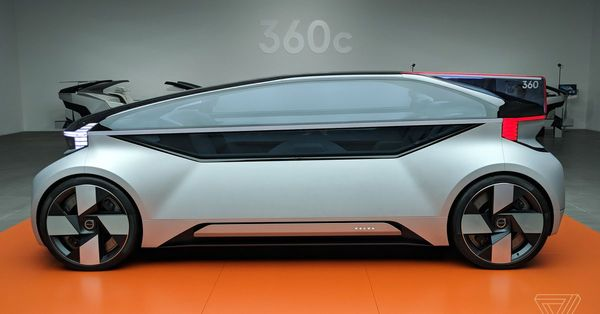 Volvo's 360c concept has softened my cynicism about autonomous cars