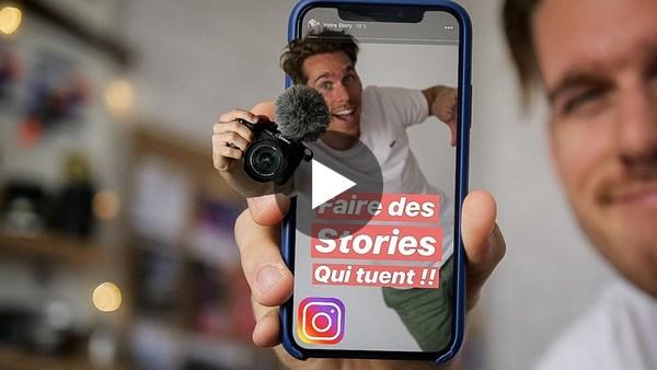 UTILISER SON REFLEX POUR CRÉER DES STORIES QUI DÉBOITENT ! - YouTube