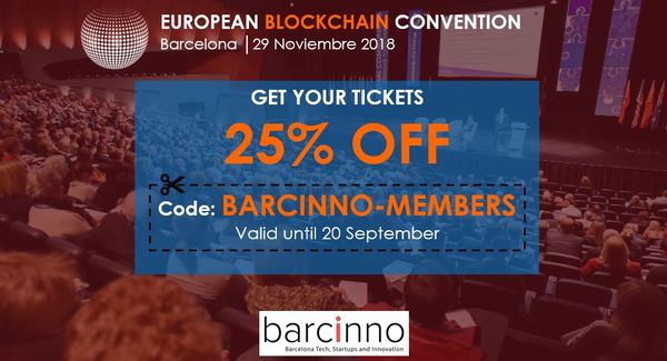 Barcinno readers get a 25% discount with the code: BARCINNO-MEMBERS